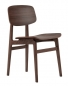 Preview: Norr11 NY11 Dining Chair, Dark Stained