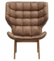 Preview: Norr11 Mammoth Chair Smoked Oak Vintage Leather