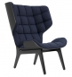 Preview: Norr11 Mammoth Chair Black, Wool