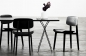 Preview: Norr11 NY11 Dining Chair, Black, Leder