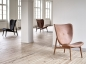 Preview: Norr11 Elephant Chair Dark Stained, Leder