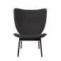 Preview: Norr11 Elephant Chair Dark Stained, Wool