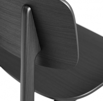 Norr11 NY11 Dining Chair, black