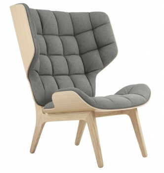 Norr11 Mammoth Chair Natural, Wool