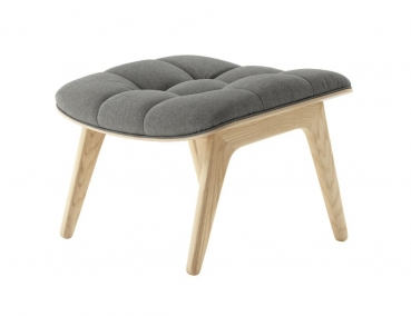 Norr11 Mammoth Ottoman Natural, Wool