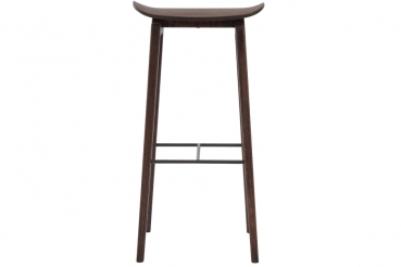 Norr11 NY11 Bar Chair, Dark Stained