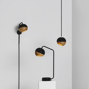 Mater - Ray Table Lamp | Black