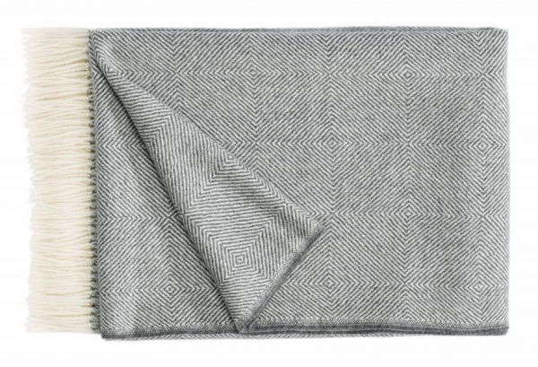 Christian Fischbacher NOBLE Plaid, Grey