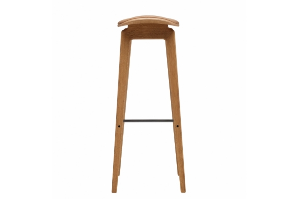 Norr11 NY11 Bar Chair, Natural, Leather Vintage
