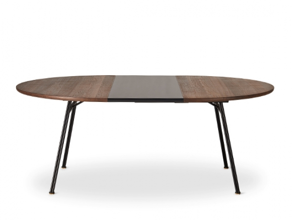 dk3 Corduroy table, smoked oak