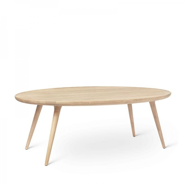 Mater Accent Oval Lounge Table, grau