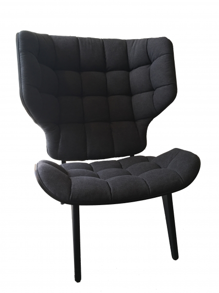 Norr11 Mammoth Chair Black, Canvas